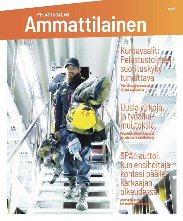 Pelastusalan ammattilainen 1/2021