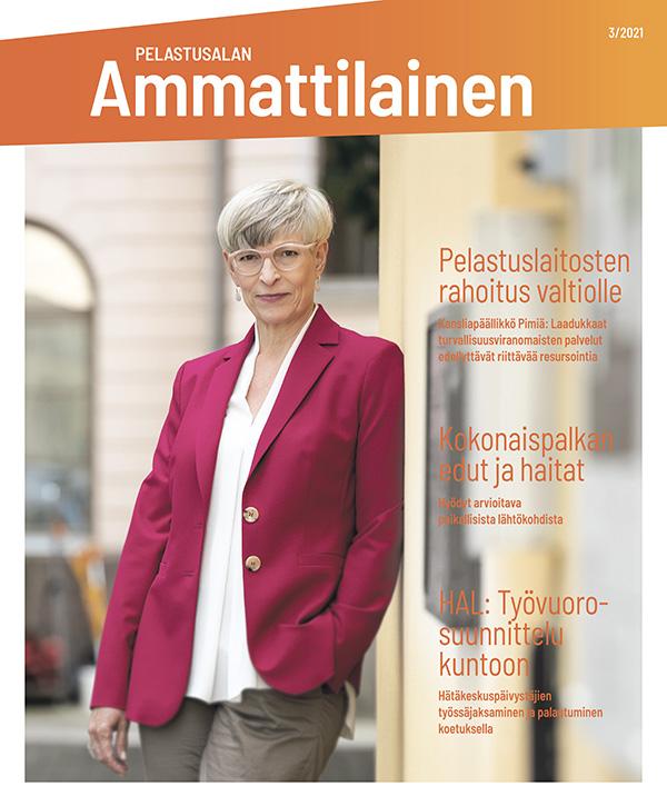 Pelastusalan ammattilainen 3/21 -lehden kansikuva